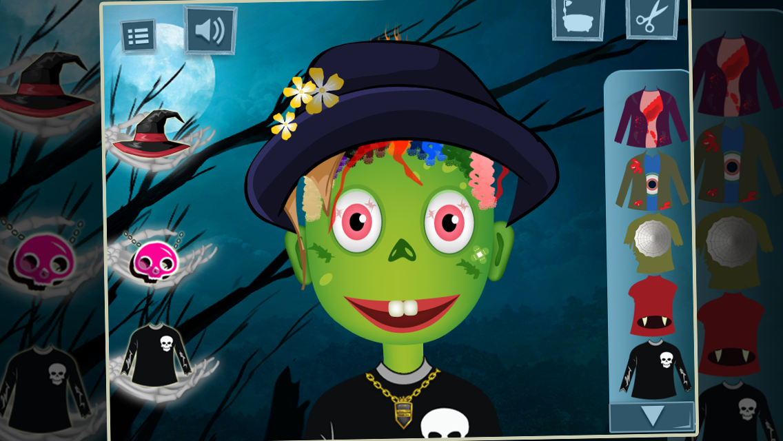 Halloween Hair Salon- screenshot