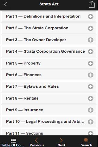 BC Strata Property Act