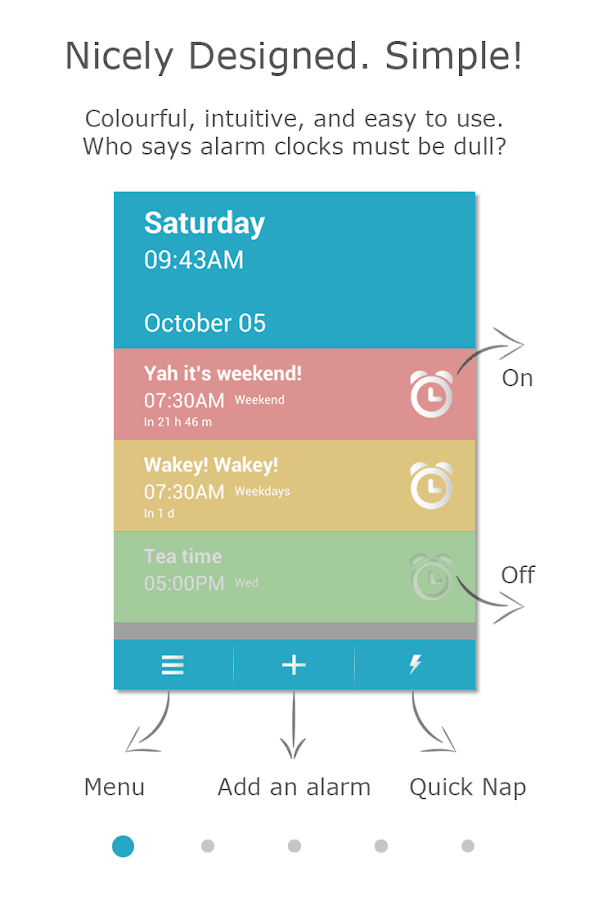 Cool Alarm Clock- screenshot