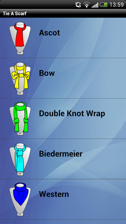 Tie A Scarf and Shawl Pro - screenshot