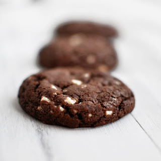 White Chipper Chocolate Cookies.