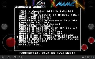 Screenshot of MAME4droid (0.37b5)