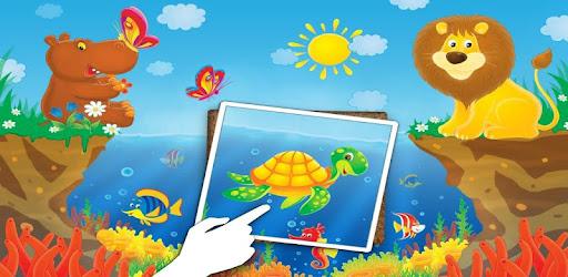 Приложения в Google Play – Animal Tile Puzzles for Kids