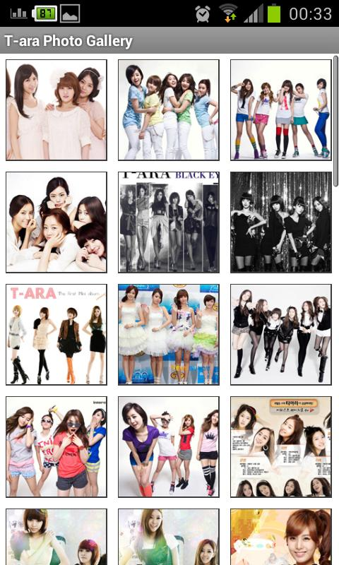 T-ara Photo Gallery - screenshot