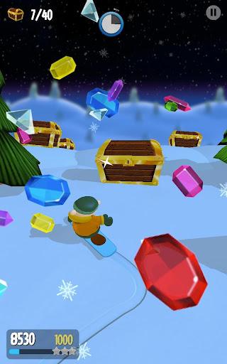 【免費街機App】Snow Spin: Snowboard Adventure-APP點子