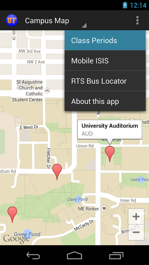 University Of Florida UF Map Android Apps On Google Play - Uf camp us map