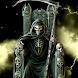 Fiery Grim Reaper Live Wallpap