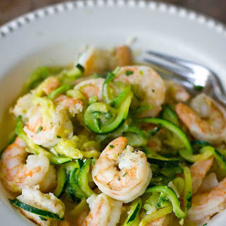 Low Carb Paleo Shrimp Scampi Recipe