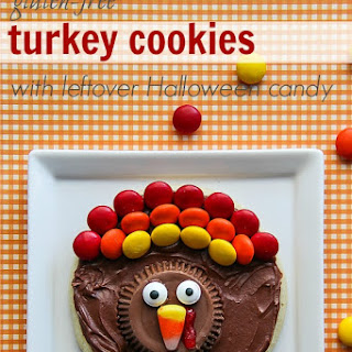 Gluten-Free Turkey Cookies
