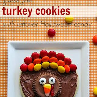 Gluten-Free Turkey Cookies.