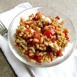 Wheat Berry Caprese Salad
