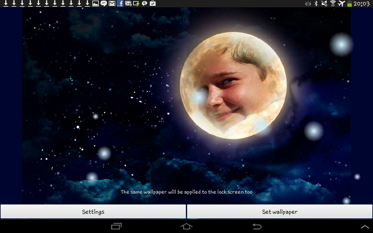 Moonlight Live Wallpaper- screenshot