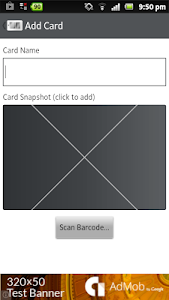 Barcode Cards screenshot 5