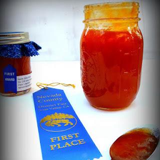 Blue Ribbon Apricot-Amaretto Jam!