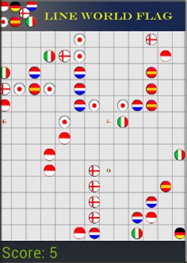 Lines Flag Logo