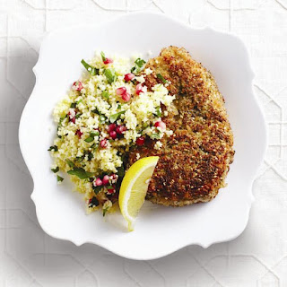 Middle Eastern crispy chicken