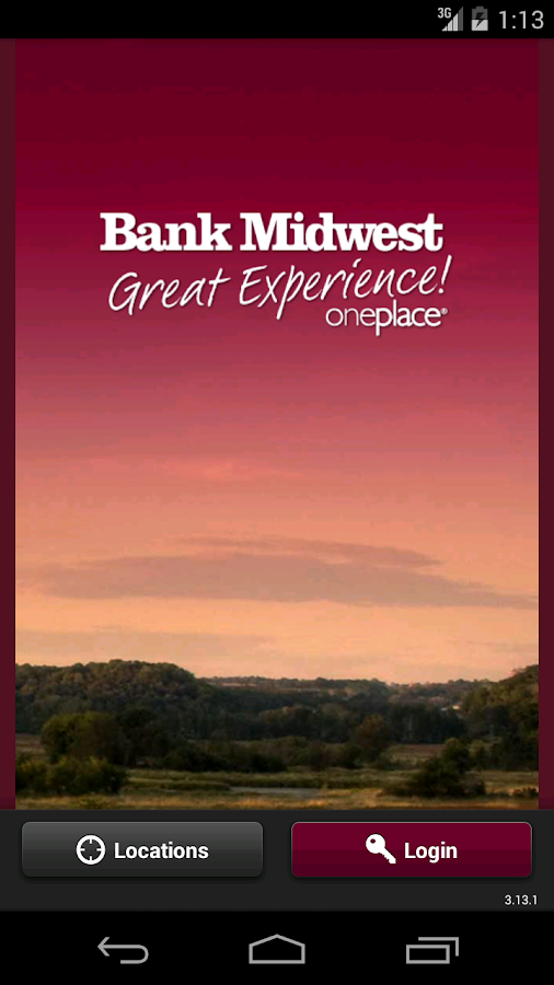 Bank Midwest Mobile - screenshot