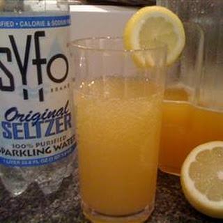 Mediterranean Lemonade Spritzers.
