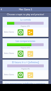 Practice Spanish: Mini-games- screenshot thumbnail
