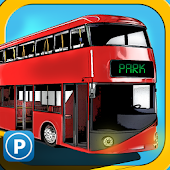 3D City Bus Parking Game 2