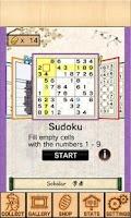 Screenshot of Sudoku&Nonogram Ukiyoe Collect