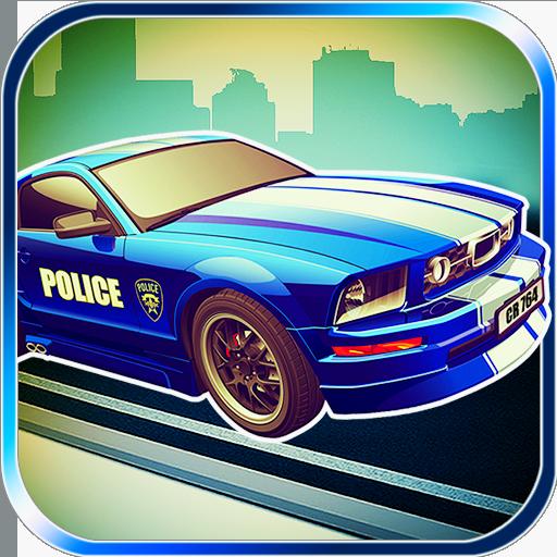賽車遊戲App|警匪狂飆 LOGO-3C達人阿輝的APP