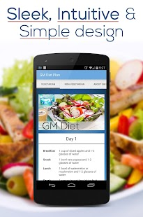 GM Diet Plan Screenshot 1