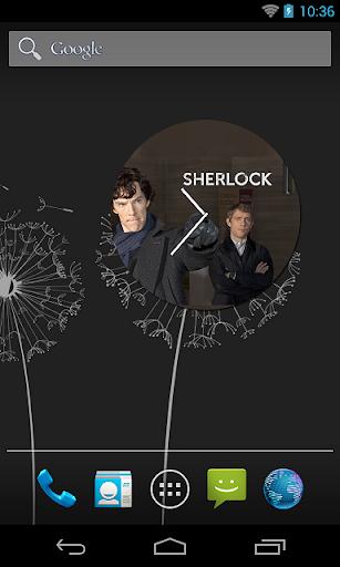 Sherlock Saat Widget