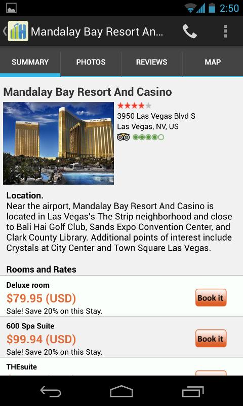 HotelsByMe Hotel Reservations - screenshot
