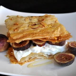 Fig Phyllo Breakfast Stacks.