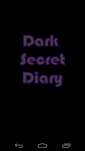 Dark Secret Diary