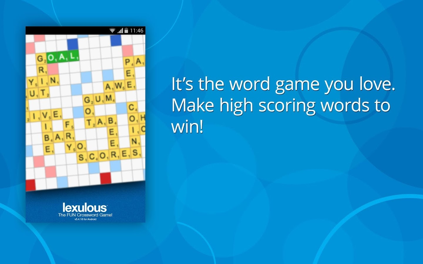 Lexulous Word Game- screenshot