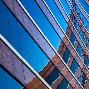 Pinacle by Michael Pachis - Buildings & Architecture Office Buildings & Hotels ( memphis, reflection, lines, curves, crescent,  )