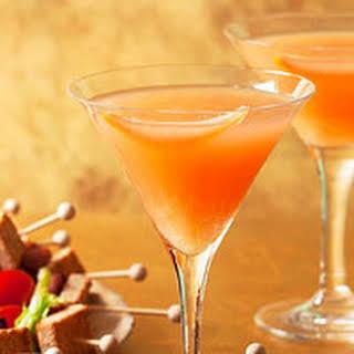 Pink Grapefruit Martinis.