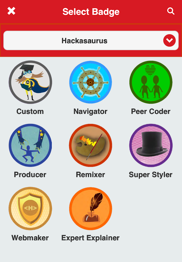 ForAllBadges- screenshot