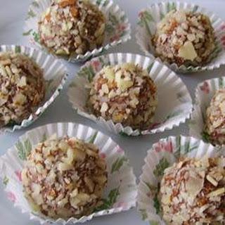 Raspberry Fudge Balls