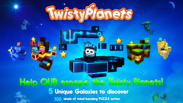 Twisty Planets Space Puzzle