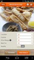 Screenshot of Meet and Eat in Crete