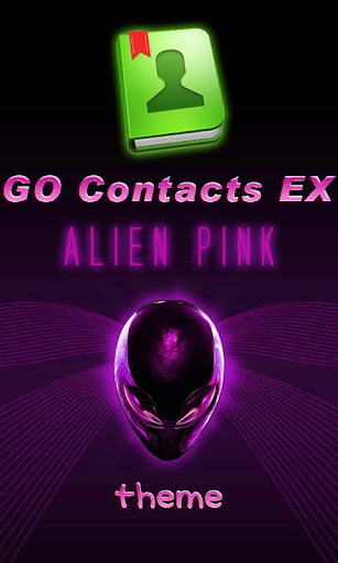 GO Contacts EX Alien Pink