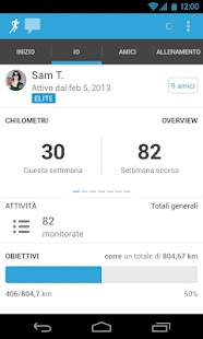 RunKeeper - GPS Correre - screenshot thumbnail
