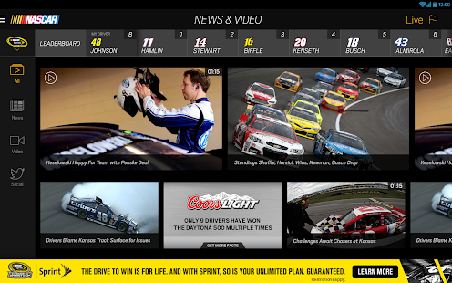 NASCAR MOBILE Screenshot 14
