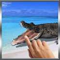 Biting Crocodile LWP icon