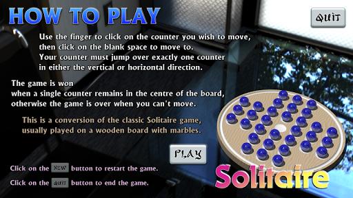Solitär Murmel Spiel HD