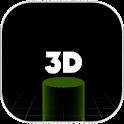 Freakin Bird 3D Cyberpunk icon