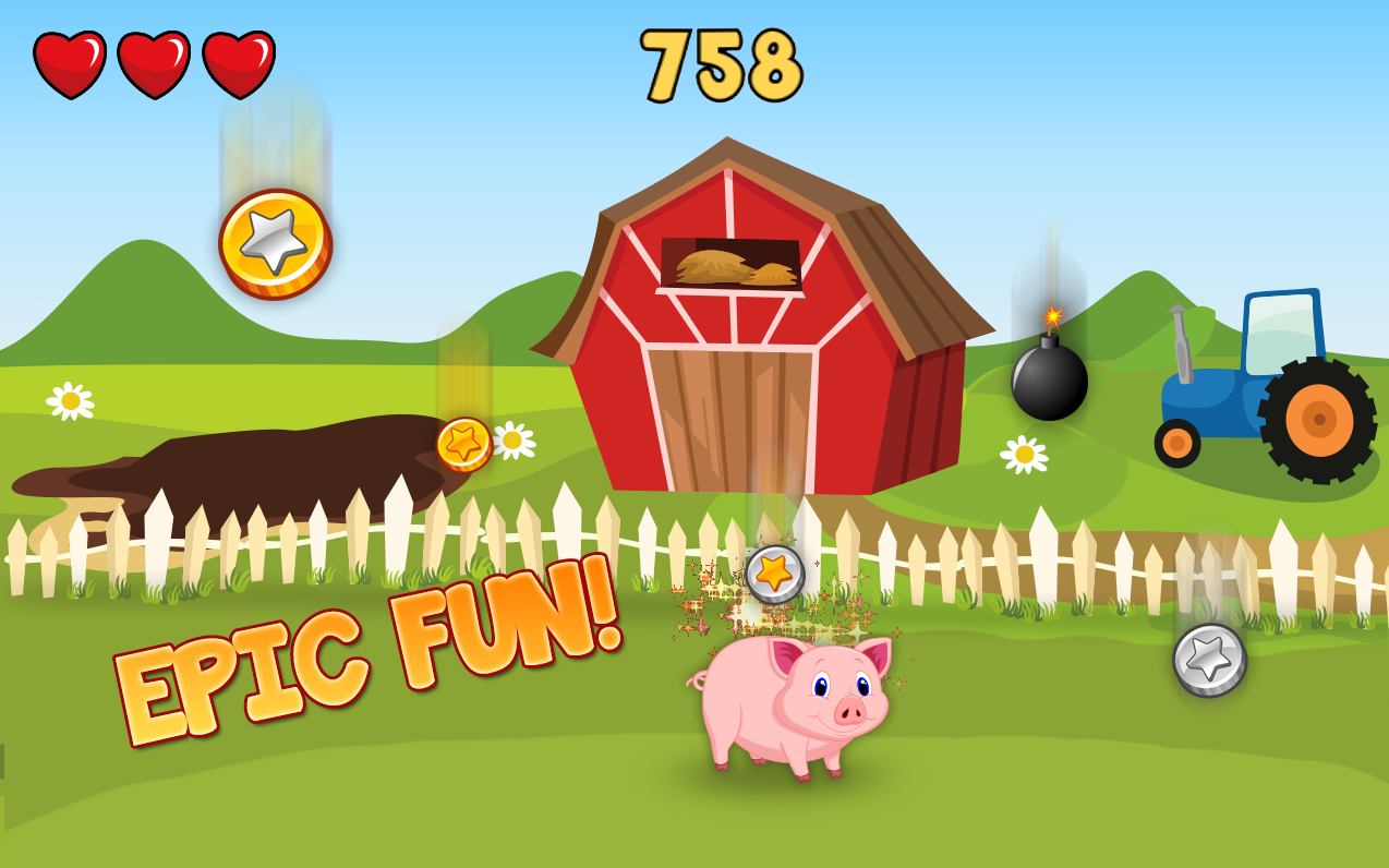 pig game farm fun android apps on google play