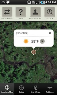 ScoutLook® Hunting Weather- screenshot thumbnail