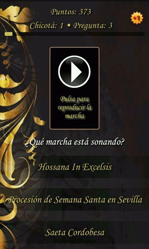 Juego Trivial Sevilla Cofrade - screenshot