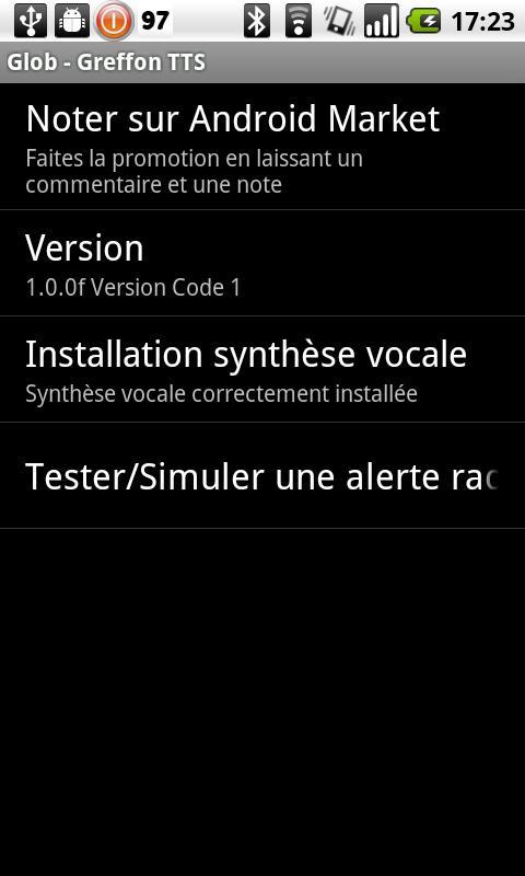 Glob - TTS Plugin- screenshot