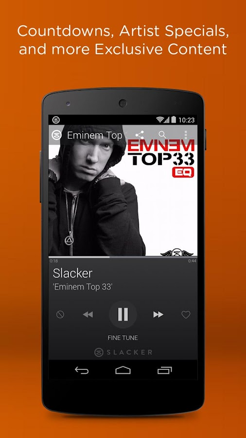 Slacker Radio - screenshot