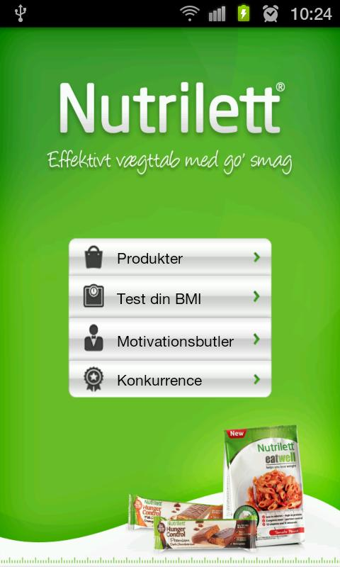 Nutrilett - screenshot